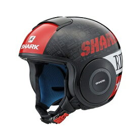 SHARK DRAK Graphic YAMAHA ジェットヘルメット TRIBUTE RM BLACK XL