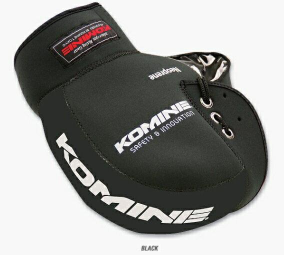 KOMINE(コミネ) AK-021 ネオプレーンハンドルウォーマー ブラック 09-021
