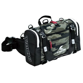 RSタイチ(アールエスタイチ) ヒップバッグ カモフラージュ 容量10L RSB268