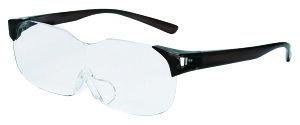 拡大鏡 ルーペ 老眼鏡 SMARTEYE メガネ型ルーペ 1.6倍 拡大 眼鏡 メガネ 折りたたみ 折り畳み フチなし 軽い 紫外線99%カット 日本製 おしゃれ 読書 読書用 メイク 携帯 スマホ pcなどに