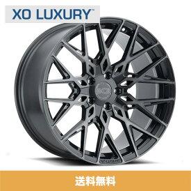 20インチホイール XO エックスオー Phoenix フェニックス20x9J フロント 20x11J リアPCD 5/120 ハブ径 76.1 mmGunmetal Brushed Gunmetal Faceガンメタルブラッシュドガンメタルフェイスカラーホイール4本セット (送料無料)