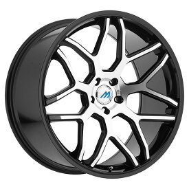 2CRAVE MACH8 Glossy Black Machined Face 19x9.5J Offset +35 PCD 5x114.3 72.56mm ホイール4本