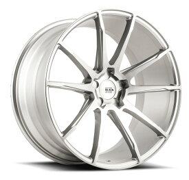 SAVINI サビーニ BM12 Black Di Forza ブラックディフォーザ Brushed Silver ブラッシュシルバー 22x9J オフセット35 PCD 5x108 ホイール4本セット (送料無料)