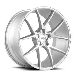 SAVINI (サヴィーニ) BM1420インチ 8.5J / 10J ホイール4本SET カラー Brushed Silver(ブラッシュド シルバー) PCD・オフセットはお好きなサイズで作成致します! 【送料無料】【ホイールセット】【SAVINI サビーニ ホイール】