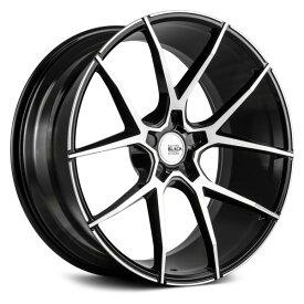 SAVINI (サヴィーニ) BM1421インチ 10.5J ホイール4本SET カラー Machined Black(マシンドブラック) PCD・オフセットはお好きなサイズで作成致します! 【送料無料】【ホイールセット】【SAVINI サビーニ ホイール】