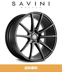 Savini サビーニ BM12 Matte Black マットブラック 20x8.5J Offset 45 PCD 5x112 ホイール4本、Kumho Ecsta PS91245/35ZR20 タイヤ4本セット (送料無料)