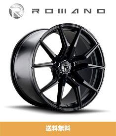 メルセデス ベンツ Gクラス (Mercedes Benz G-Class)用 ロマノ RFR02 ブラック 22インチホイール4本セット ROMANO RFR02 Black 22 inch Wheels for Mercedes-Benz G-Class (送料無料)