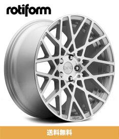 TOYOTA プリウス 2013モデル用ロティフォーム 18x8.5J PCD 5x100 ET 35 シルバーホイール4本セット Rotiform BLQ Silver Machined 18x8.5J PCD 5x100 Wheels (送料無料)
