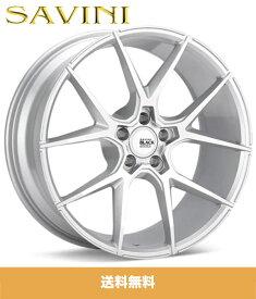 アルファロメオ スパイダー 3.2 Q4用サヴィーニBM14 20x8.5J PCD 5x110 ET 36 ブラッシュシルバーホイール4本 Savini BM14 20x8.5J Brushed Silver Wheel (送料無料)