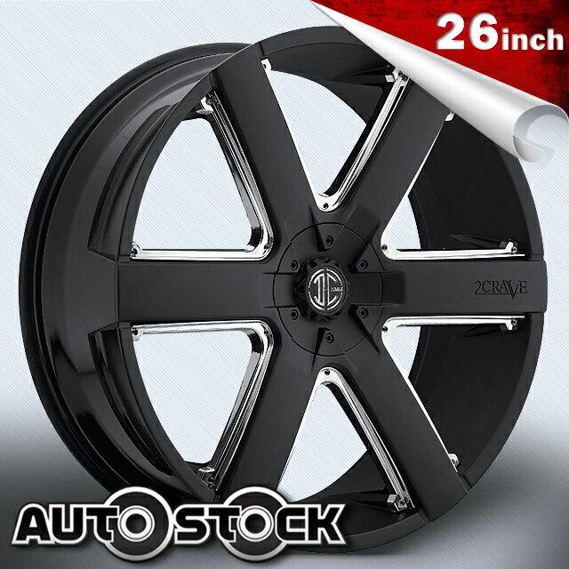 2CRAVE No.31 ナンバー31 26インチ タイヤ・ホイールSETBlack Machined Glossy Black ブラックマシンドグロスブラック2クレーブ【送料無料】【タイヤホイールセット】【2CRAVE】