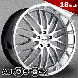 TSW SNETTERTON (スネッタートン) 18インチ タイヤ・ホイールSET Hyper Silver w/ Mirror Cut Lip (ハイパーシルバー/ミラーカットリップ) 【送料無料】【タイヤホイールセット】【TSW Wheel ホイール】
