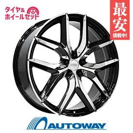 245/30R20 サマータイヤ タイヤホイールセットESTATUS Style-XTR 20x8.5 +45 114.3x5 Black Polish + HF805 【送料無料】 (245-30-20 245/30/20)夏タイヤ 20インチ