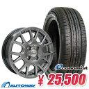 155/65R14 サマータイヤ タイヤホイールセット 【送料無料】 Verthandi YH-M7 14x4.5 +45 100x4 METALLIC GRAY + Econ…