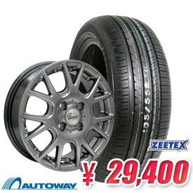 165/55R15 サマータイヤ タイヤホイールセット 【送料無料】Verthandi YH-M7 15x4.5 +45 100x4 METALLIC GRAY + ZT1000 (165-55-15 165/55/15 165 55 15)ジーテックス 夏タイヤ 15インチ 4本セット 新品