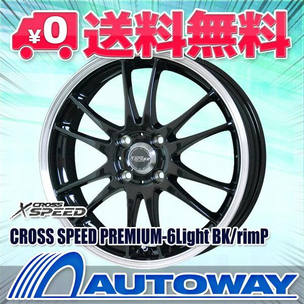 【送料無料】175/70R14 サマータイヤ タイヤホイールセットCROSS SPEED PREMIUM-6Light 14x5.5 +42 100x4 BK/リムP + ATR SPORT 122 (175-70-14 175/70/14)