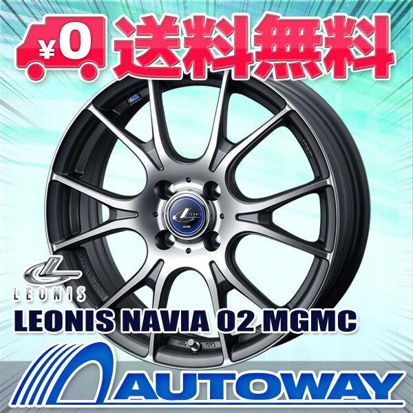 195/55R16 サマータイヤ タイヤホイールセット 【送料無料】 LEONIS NAVIA 02 16x6.0 45 100x4 MGMC + Corsa Ultimate 195/55R16 87V (195/55/16 195-55-16) 夏タイヤ 16インチ