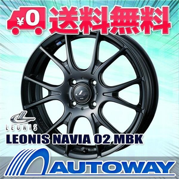 195/55R16 サマータイヤ タイヤホイールセット 【送料無料】 LEONIS NAVIA 02 16x6.0 45 100x4 MBK + Corsa Ultimate 195/55R16 87V (195/55/16 195-55-16) 夏タイヤ 16インチ