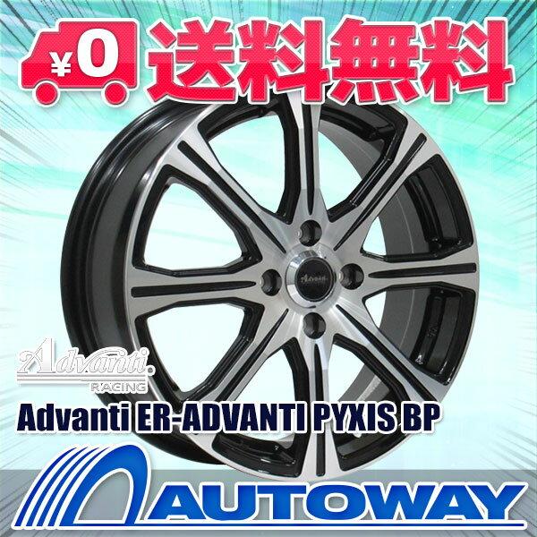 195/55R16 サマータイヤ タイヤホイールセット 【送料無料】Advanti ER-ADVANTI PYXIS 16x6.0 +53 100x4 BP + Corsa Ultimate (195/55-16 195-55-16 195 55 16) 夏タイヤ 16インチ 4本セット 新品