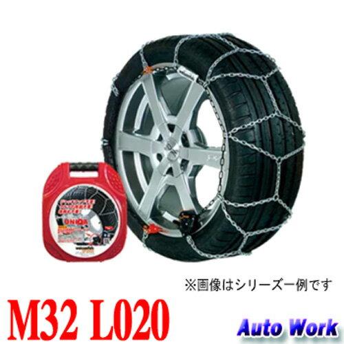 金属タイヤチェーン バイセンフェルス クラック&ゴー ユニカ M32 L020