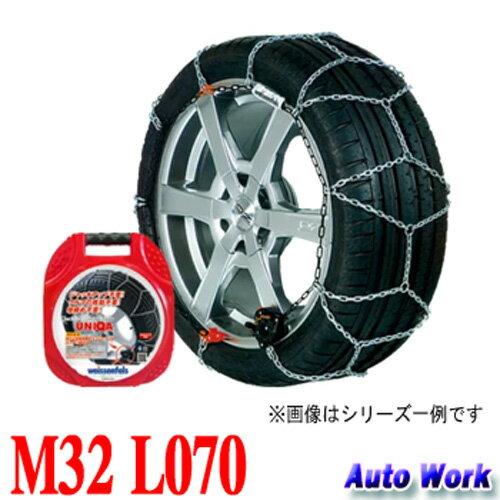 金属タイヤチェーン バイセンフェルス クラック&ゴー ユニカ M32 L070