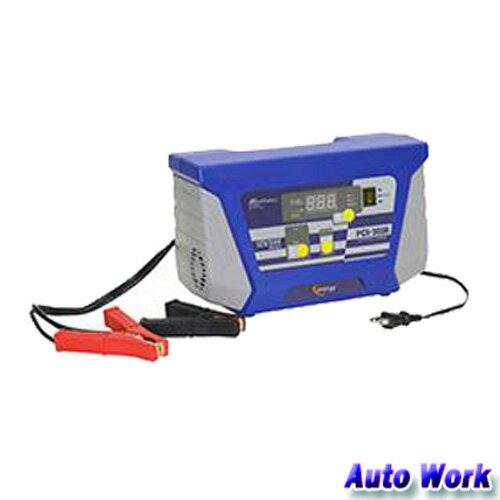 自動車用全自動 バッテリー充電器 12V/24V PCX-3000 大自工業 メルテック