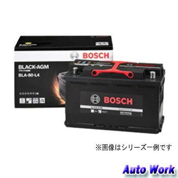 BOSCH ボッシュ BLACK-AGM BLA-80-L4 80Ah 欧州車用 AGM バッテリー