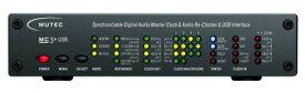 MC-3+USB [ブラック] MUTEC[ミューテック]  USB デジタルオーディオ・マスタークロックジェネレーター