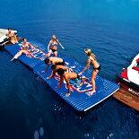 浮き輪フロートプールビーチレジャーWOWワオWATERWALKWAYウォーターウォークウェイ