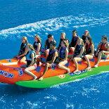 バナナボート12人乗りWOW(ワオ)クローズドバウウォータースレッド