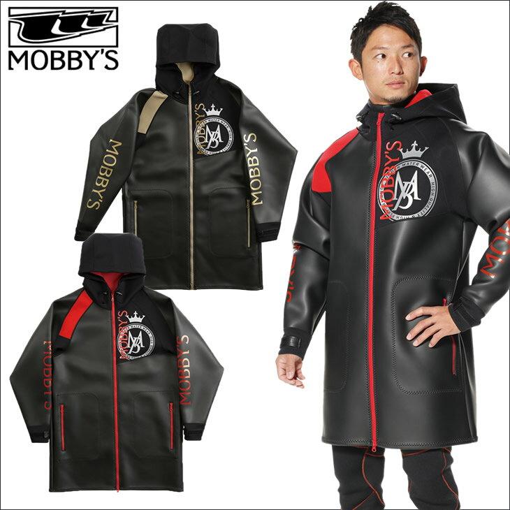 ウェイクボード 防寒 防風 マリンスポーツ MOBBY'S (モビーズ) ネオジャケット 1.5mm ラバー