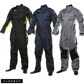 ドライスーツ セーリング ソックスタイプ 防寒 防水 MOBBY'S (モビーズ) ウィンド ドライスーツ