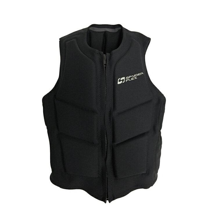 SUP ライフジャケット 薄型 ウェイクボード メンズ レディース 男女兼用 ネオプレン SPYDERFLEX (スパイダーフレックス) T-1 コンペ ショート ベスト