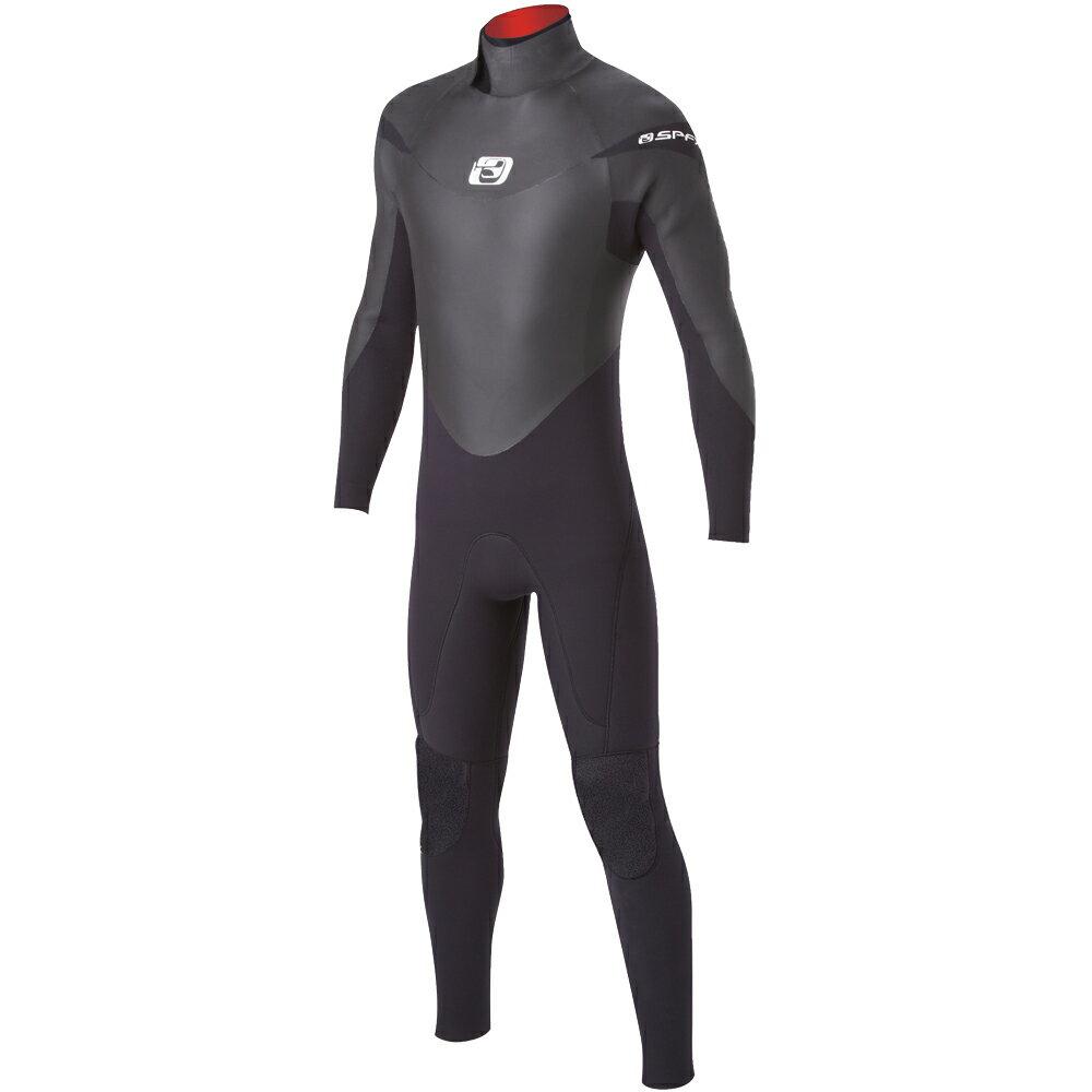 セミドライスーツ メンズ ウエットスーツ サーフィン マリンスポーツ 防寒 5mm 3mm SPYDERFLEX (スパイダーフレックス) セミドライスーツ