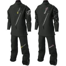 ドライスーツ アンクルタイプ SPYDERFLEX (スパイダーフレックス) ウェットドライスーツ スタンダードタイプ