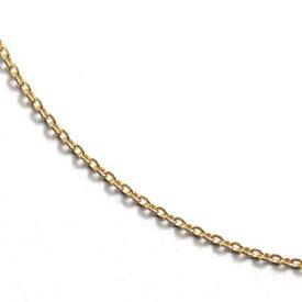 10K イエローゴールドネックレス (45cm) アズキ0.25