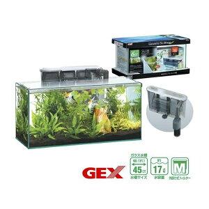 GEX グラステリアスリム 450 6点セット 45cm水槽 『ガラス水槽セット』
