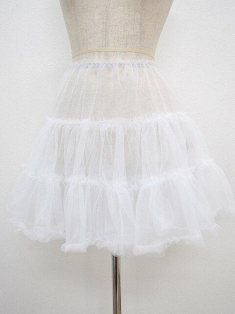 パニエ004 ちょうど良いボリュームのソフトなパニエ パーティードレスのスカートをふんわり♪ 結婚式 パーティー 演奏会 メール便送料無料
