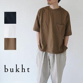 bukht / ブフト / Tシャツ / CREW NECK POKET T-SHIRTS / BV-52101