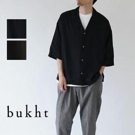 bukht / ブフト / 半袖シャツ / OPEN COLLAR SHIRTS / BV-52203