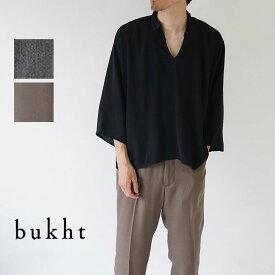 bukht / ブフト / 半袖シャツ / HAND EMBROIDERY SKIPPER SHIRTS / BV-52205