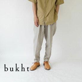 bukht / ブフト / パンツ / 2TUCK L POCKET TROUSERS -HIGH COUNT FAB- / BV-61808