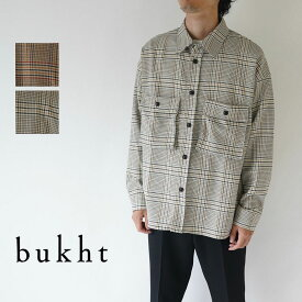 bukht / ブフト / CPO SHIRTS -OVER CHECK FAB- / BV-45208