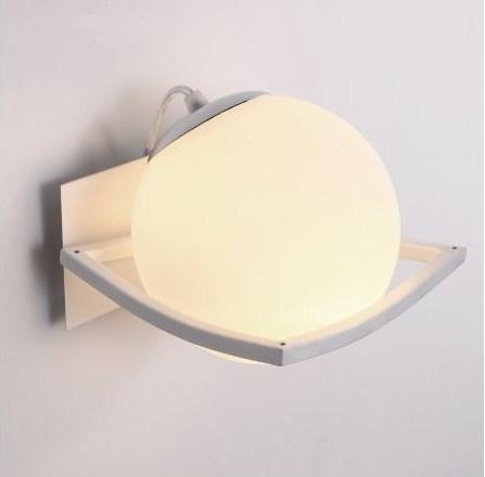 壁掛け照明 シンプル ガラスボール ウォールライト LED バー ラウンジ レストラン カフェ 喫茶