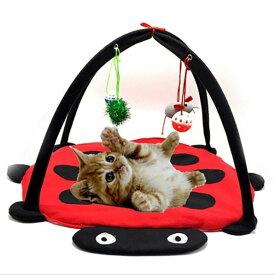 【エントリーしてポイント10倍 10/29(火)1:59まで】 ペット 遊び場 マット 猫 ハンモック ベッド おもちゃ子猫