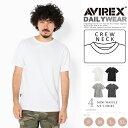 AVIREX 公式通販・DAILY WEAR | デイリー ミニ ワッフル ショートスリーブ ティーシャツMINI WAFFLE CREW NECK S/S T-…