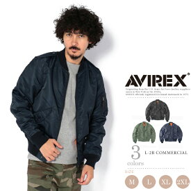 AVIREX 公式通販 |L-2B コマーシャル/L-2B COMMERCIAL【送料無料】(アビレックス/アヴィレックス)メンズ 男性 ma1