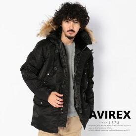 AVIREX 公式通販  N-3B コマーシャル(リアルファー)N-3B COMMERCIAL(REAL FUR)【送料無料】(アビレックス アヴィレックス)メンズ 男性