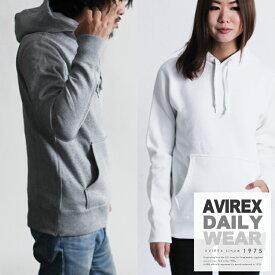 AVIREX 公式通販・DAILY WEAR | デイリー無地パーカーL/S SWEAT PULL PARKA【送料無料】