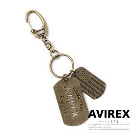AVIREX 公式通販   ドッグタグ キーホルダー 国旗/DOG TAG KEY RING S&S