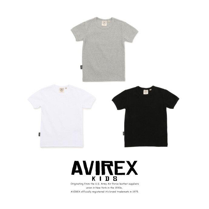AVIREX 公式通販・KIDS | キッズ デイリー リブクルーTシャツ/ KID-S DAILY RIB CREW T-SHIRT